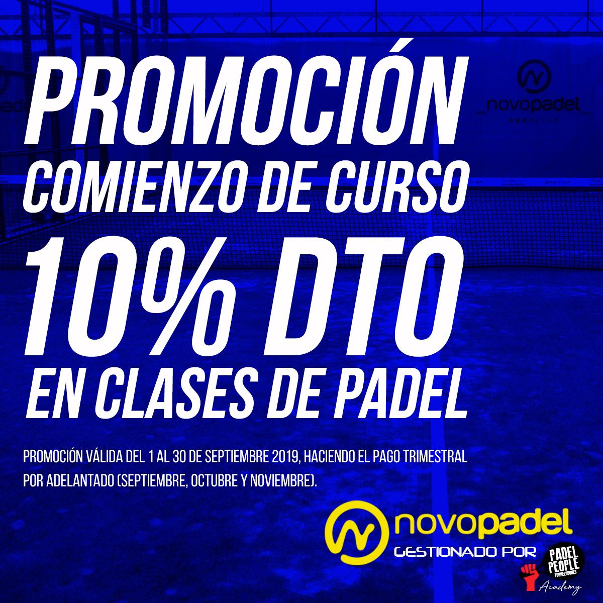 PROMOCION COMIENZO DE CURSO
